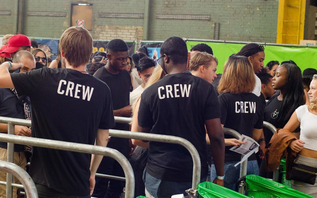 Word hulpcoach of festival assistent en volg de Crew Academie